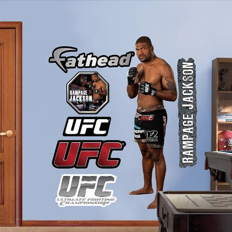 Rampage Jackson Wall Decal