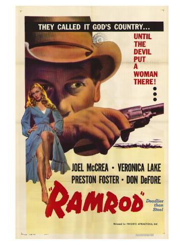 Ramrod, 1947 Konstprint