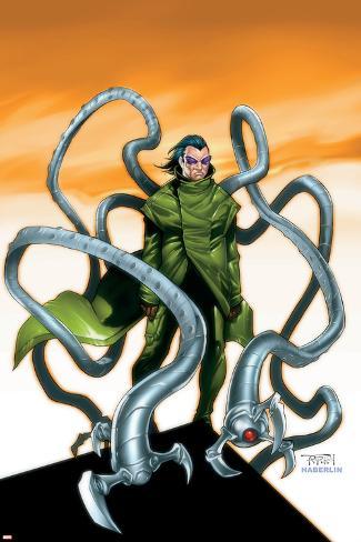 オールポスターズの ランディー グリーン spider man doctor octopus