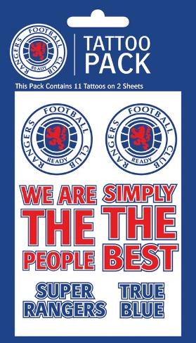 Rangers Temporary Tattoos Temporary Tattoos