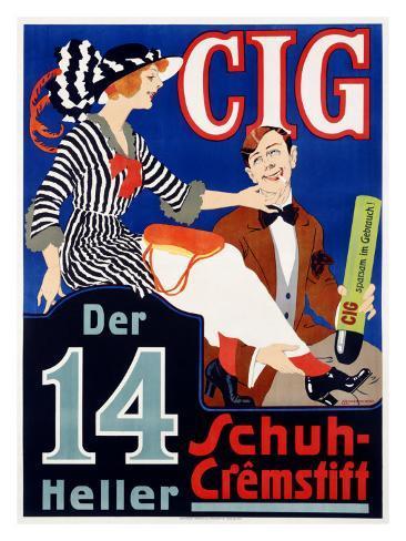 Cig Giclee Print