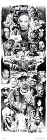 Rap Gods Door Poster