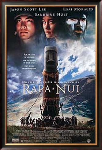 Rapa Nui Pôster emoldurado