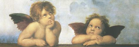 Raphael - angels Poster