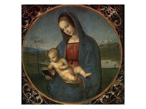 Madonna and Child (Conestabile Madonna) Giclee Print