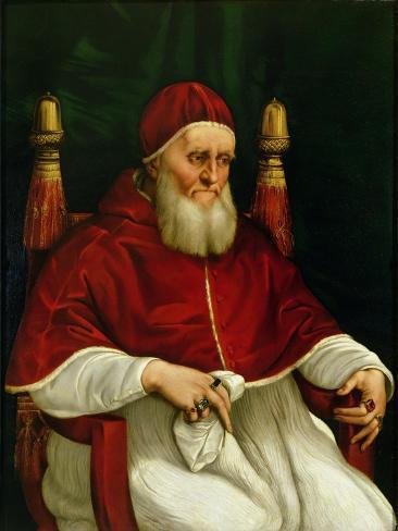 Portrait of Pope Julius II Lámina giclée