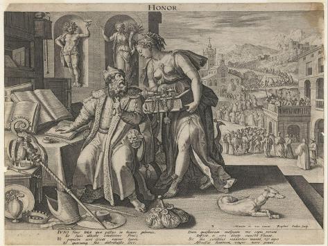 Honor, 1591 Giclee Print