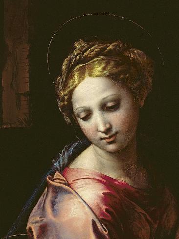 The Madonna (Detail), C.1518 Lámina giclée
