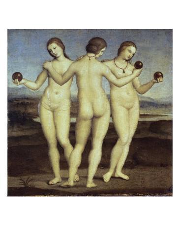 The Three Graces Giclee Print