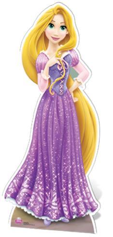 Rapunzel Cardboard Cutouts