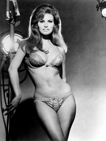 Raquel Welch, Portrait from the Film, Bedazzled, 1967 Photo