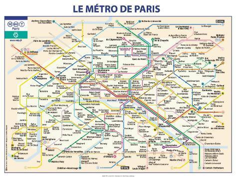 Métro De Paris Prints by Ratp - AllPosters.co.uk