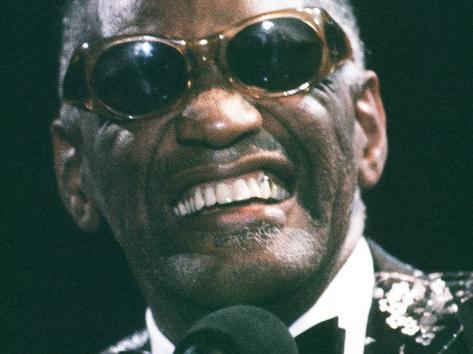 Ray Charles Close Up Photo