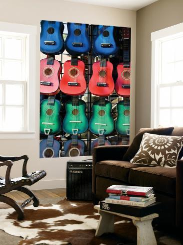 Toy Guitars for Sale at New Mexico State Fair Giant Art Print