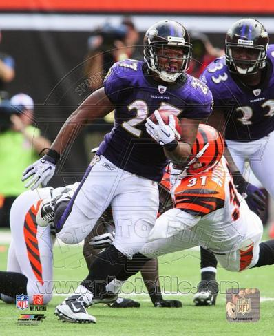 Ray Rice 2010 Action Photo