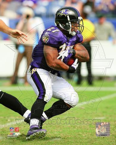 Ray Rice 2011 Action Photo
