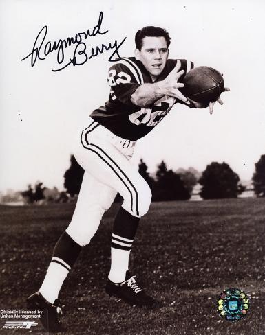 Raymond Berry Baltimore Colts Photo