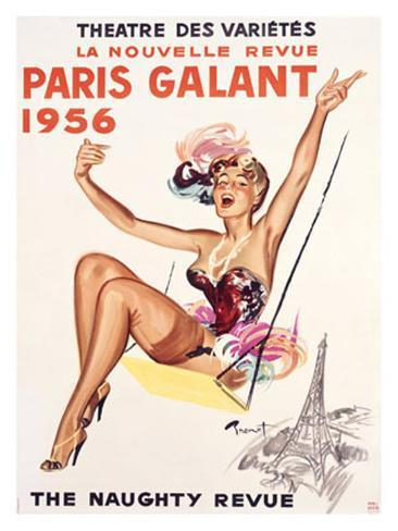 Paris Gallant Giclee Print