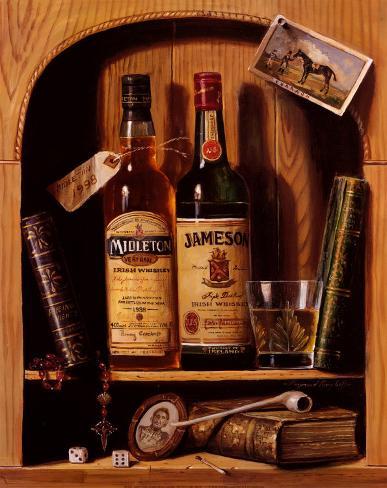 Jameson Irish Whiskey Art Print