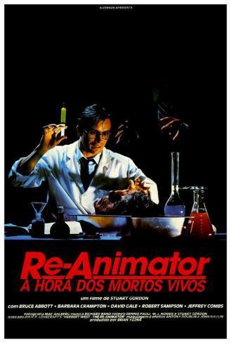 Re-Animator - Brazilian Style Poster