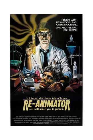 Re-Animator - Movie Poster Reproduction Art Print