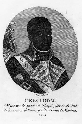 Henri Christophe, King of Haiti, 1806 Giclee Print