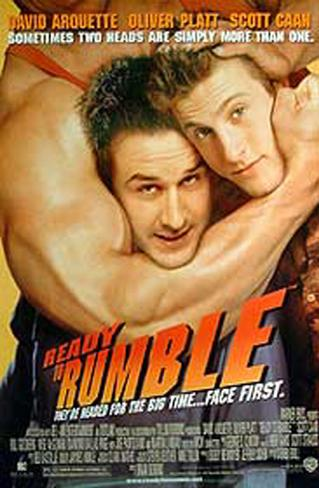 Ready To Rumble Double-sided poster