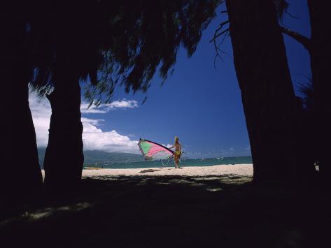Ready to Windsurf Photographic Print