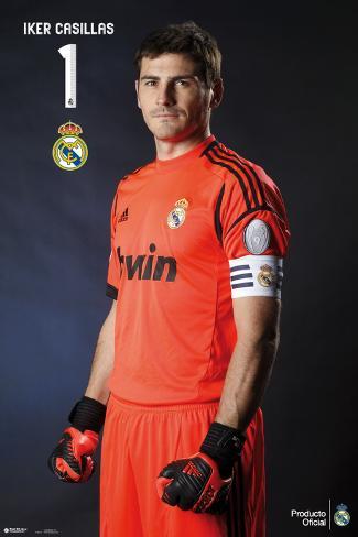 Real Madrid-Casillas Poster