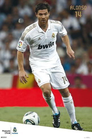 Real Madrid - Xabi Alonso 2011/2012 Poster