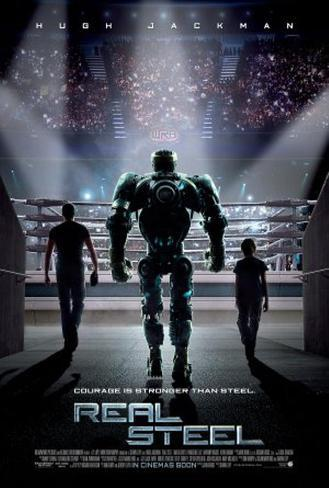 Real Steel Double-sided poster