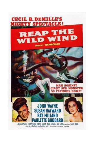 Reap the Wild Wind Impressão giclée