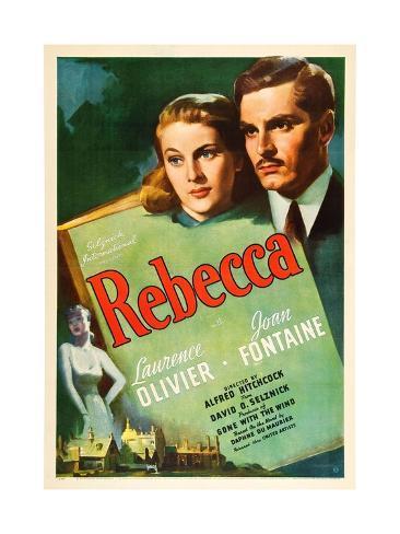 Rebecca, 1940 Giclee Print