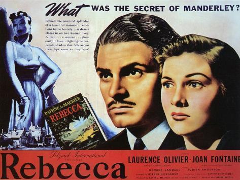 Rebecca, 1940 Art Print