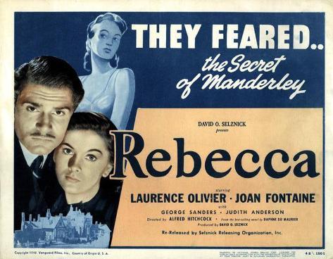 Rebecca, la prima moglie Stampa master