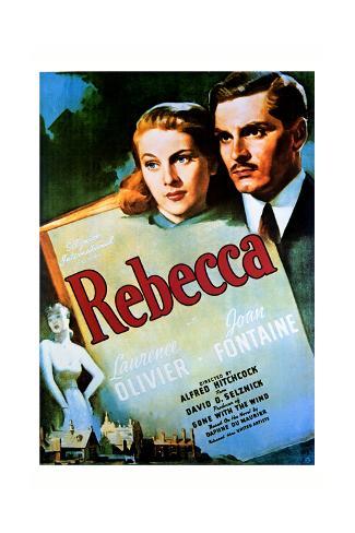 Rebecca - Movie Poster Reproduction Art Print
