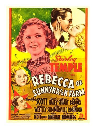 Rebecca of Sunnybrook Farm, 1938 Stretched Canvas Print