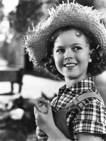 Rebecca of Sunnybrook Farm, Shirley Temple, 1938 Photo