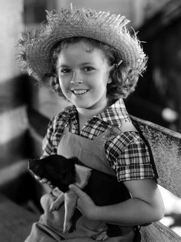 Rebecca Of Sunnybrook Farm, Shirley Temple, 1938 写真