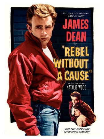 Rebel Without a Cause, 1955 Stretched Canvas Print