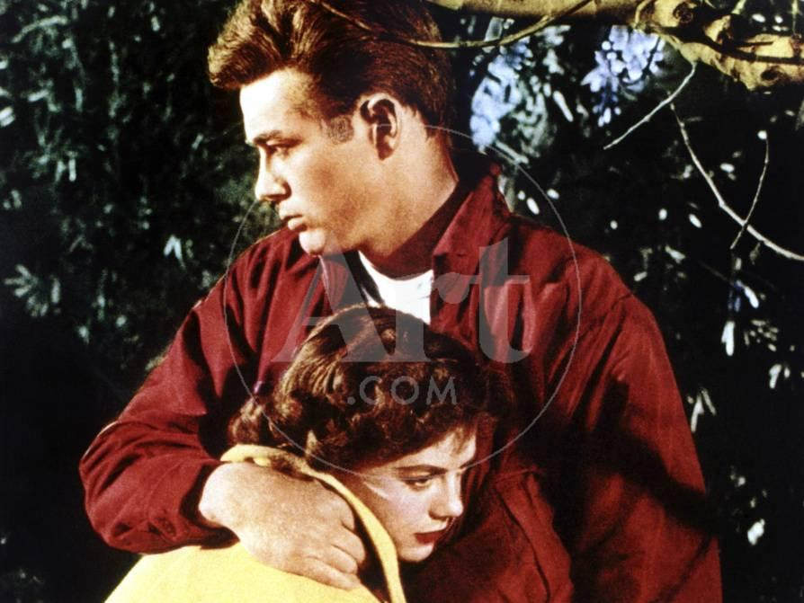 Rebel Without A Cause, Natalie Wood, James Dean, 1955
