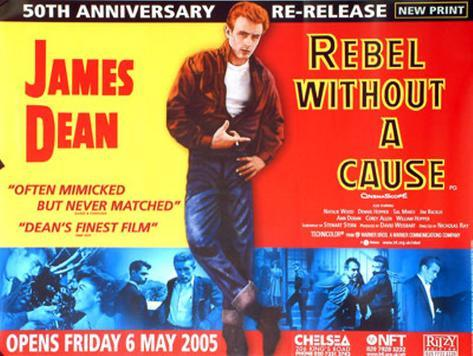 Rebel Without A Cause Original Poster