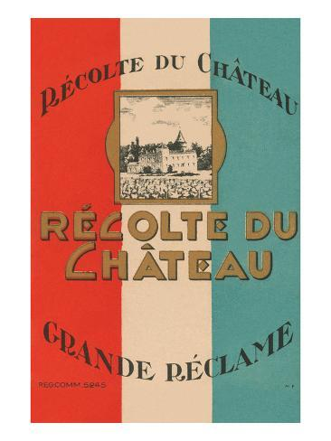 Recolte Du Chateau Taidevedos