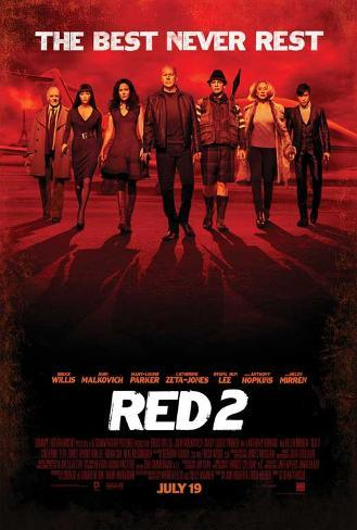 RED 2 Movie Poster Poster