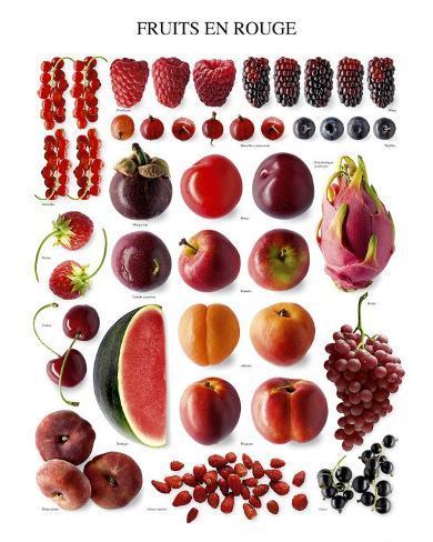 Red Fruit Art Print