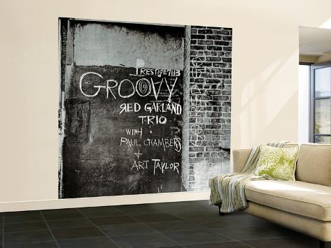 Red Garland - Groovy Wall Mural – Large