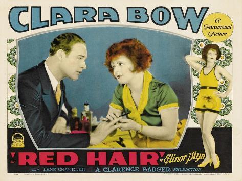 Red Hair, 1928 Art Print