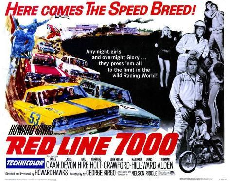 Red Line 7000 -  Style Poster