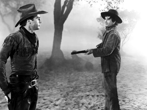 Red River, Montgomery Clift, Noah Beery Jr., 1948 写真