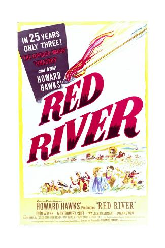 Red River - Movie Poster Reproduction Art Print